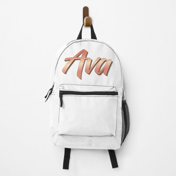 Ava My Name is Ava!  Backpack