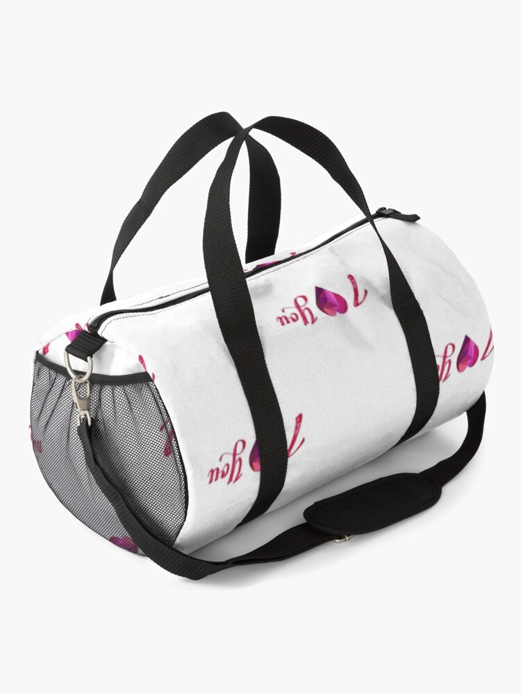 Alternate view of Love is in the Air Duffle Bag