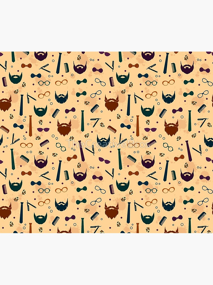 Colorful Modern Beard Design by TheCreativeBros
