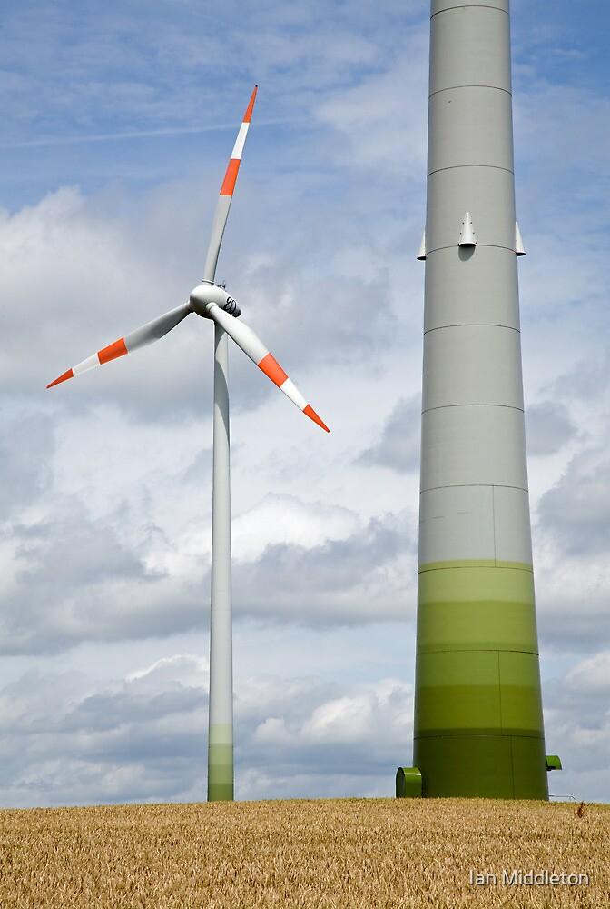 Wind farm in Germany by Ian Middleton