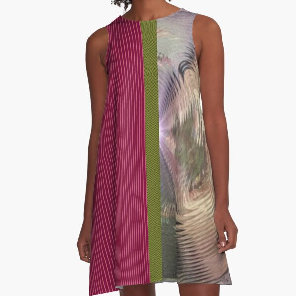 Telda Wave A-Line Dress