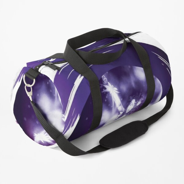 Surreal purple ballerina  Duffle Bag