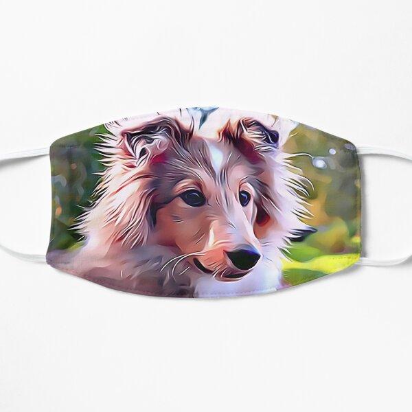 Shetland Sheepdog Puppy Flat Mask