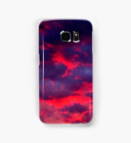 Calypso Sunset (available in iphone & ipod cases) Samsung Galaxy Case/Skin