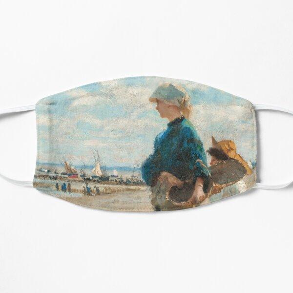 John Singer Sargent - En route pour la peche (Setting Out to Fish) Detail Flat Mask