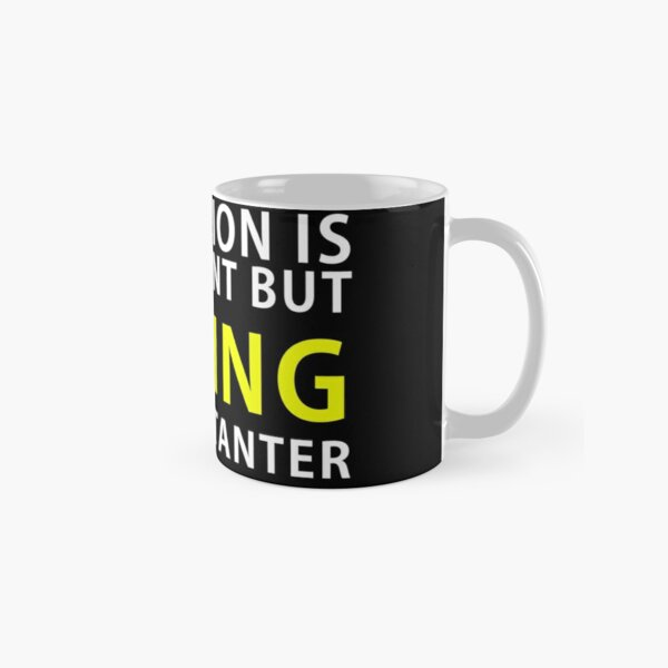 Education is important but Sewing is Importanter Classic Mug