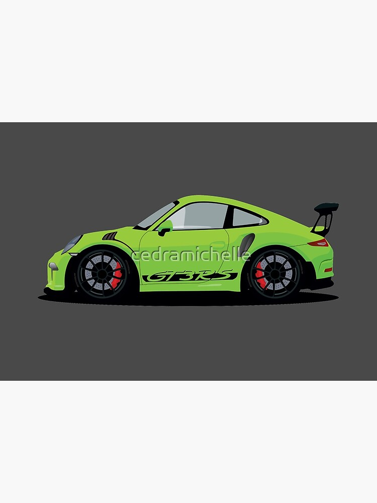 Squashed GT3 RS by cedramichelle