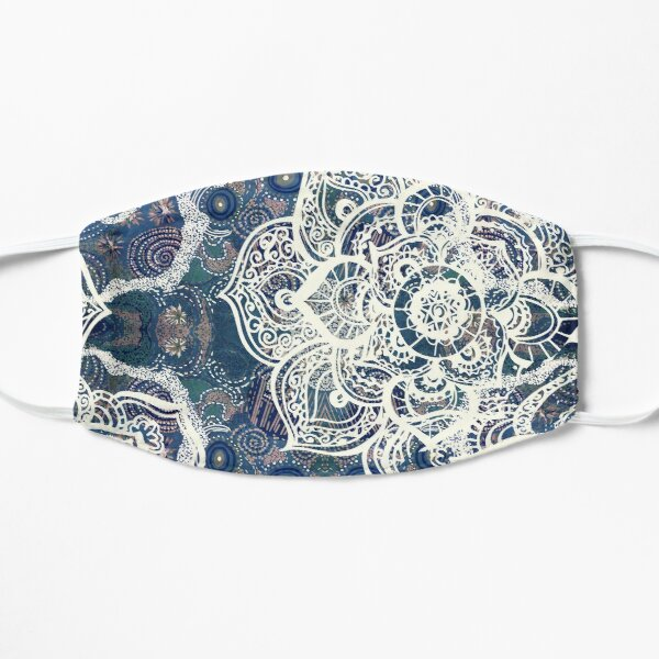 Australian Aboriginal art/ Mandala deco Flat Mask