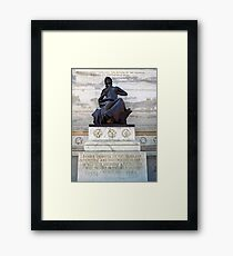 Iowa's Tribute Her Forces of the Rebellion Framed Print