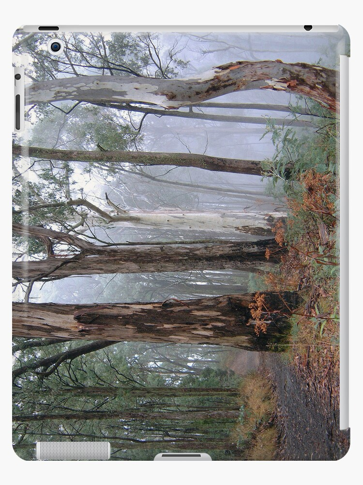 Ghosts In The Mist - Victorian Alps, Australia (IPAD CASE) by Philip Johnson