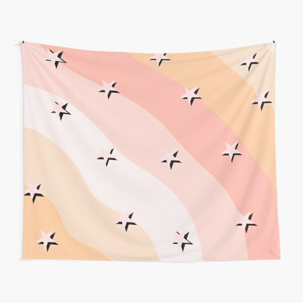Pink Tapestries Redbubble