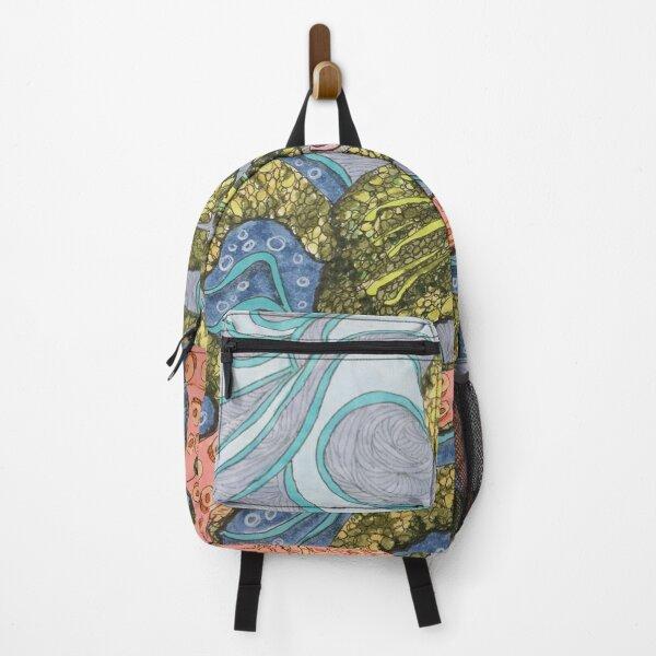Octopus Waves Backpack
