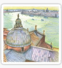 VENICE. View to Grand Canal from Basilica Di San Giorgio Maggiore.  Sticker