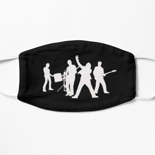 Banda inspirada en U2 Mascarilla plana