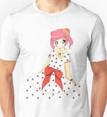 Cute girl with Strawberry dress T-Shirt