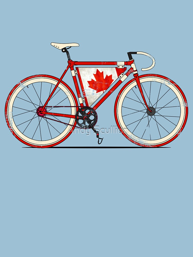 Love Bike, Love Canada by AndyScullion
