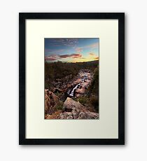 Woolshed Falls Framed Print