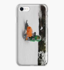 LEGO Mini Eskimo on Snowmobile iPhone Case/Skin