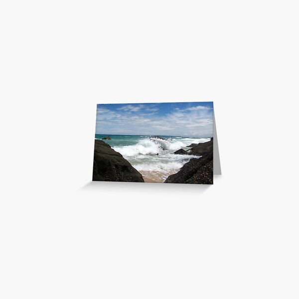 Beyond the Rock Curtain Greeting Card