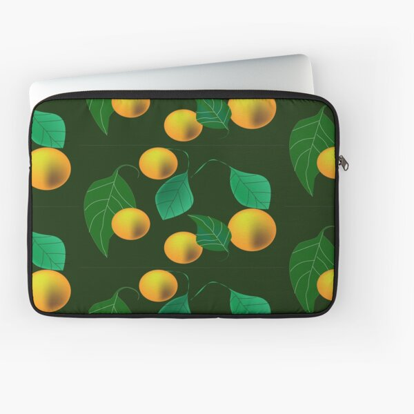 Pattern with yellow fruits Laptop Sleeve