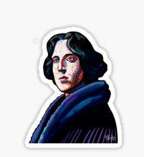 One must wear Oscar Wilde Sticker