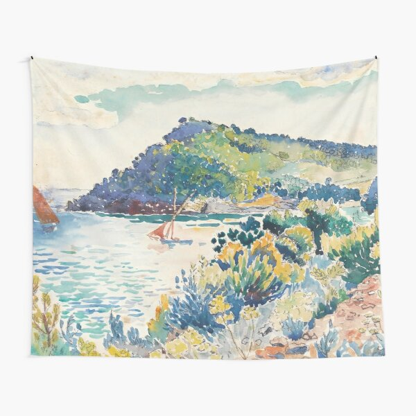 Henri Edmond Cross - ÉTUDE POUR LE CAP NÈGRE Tapestry