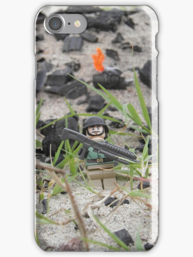 LEGO Mini Soldier in the Field of Battle by ArtShopEtc