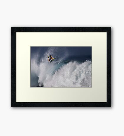 The Art Of Surfing In Hawaii 10 Framed Print