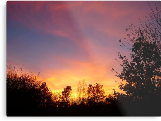 Alabama Sunset by Vivian Eagleson