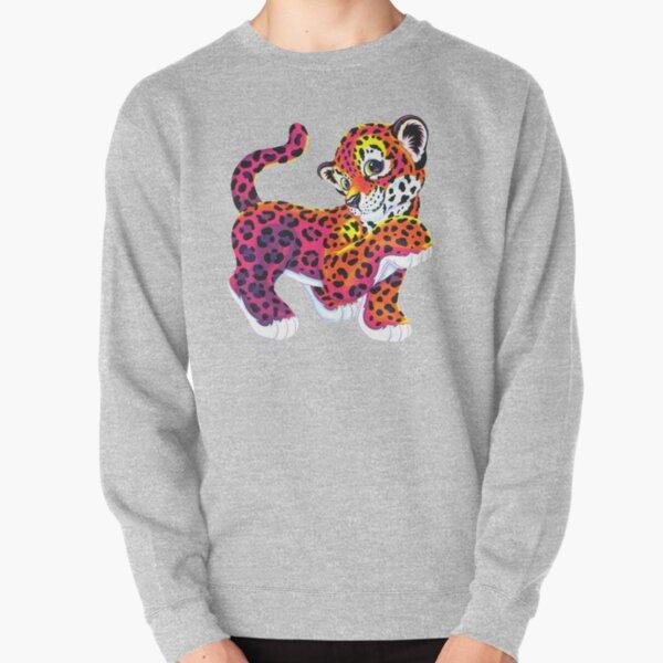 Lisa frank tiger funny lisa rainbow Pullover Sweatshirt