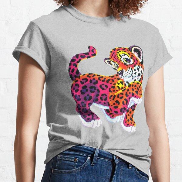 Lisa frank tiger funny lisa rainbow Classic T-Shirt