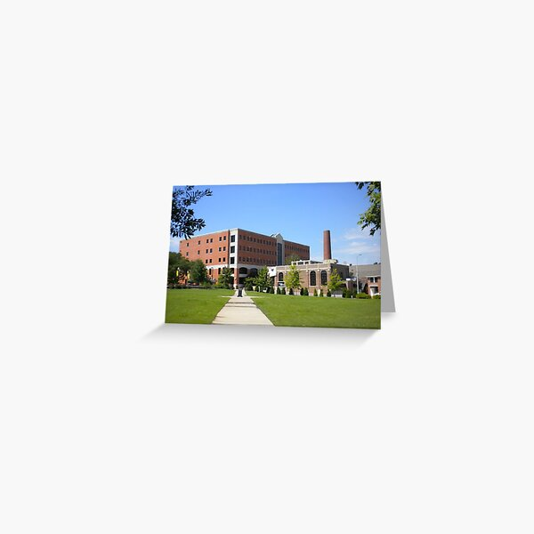 Southern Miss Courtyard Greeting Card