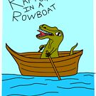 Raptor In A Rowboat by Turlguy