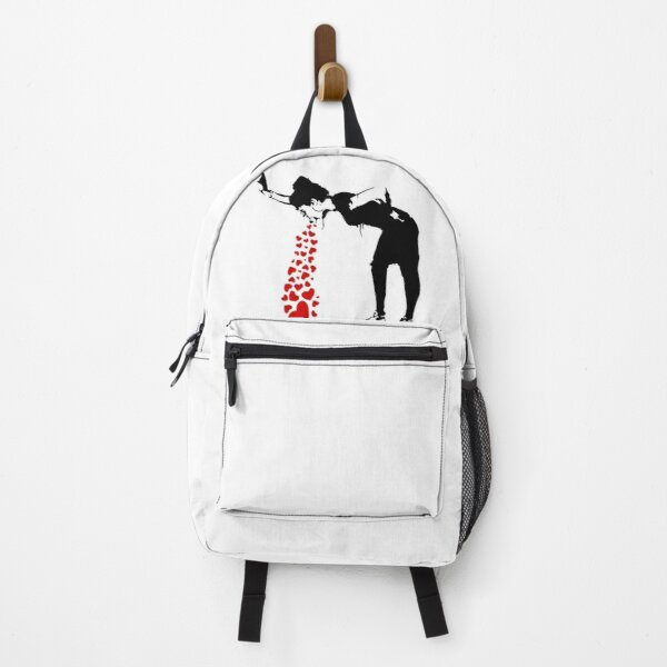 Lovesick - Banksy, Streetart Street Art, Grafitti, Artwork, Design For Men, Women, Kids Backpack