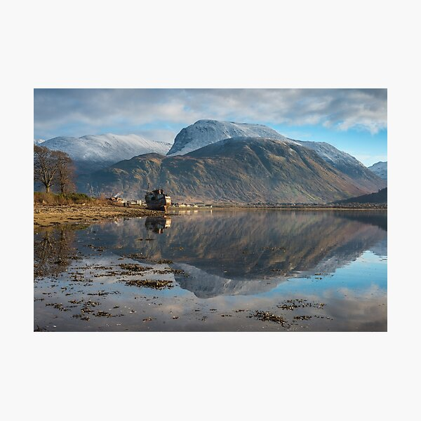 Ben Nevis and Aonach Mor - Fort William Photographic Print