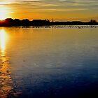 Lake Sunset by Jake Kauffman