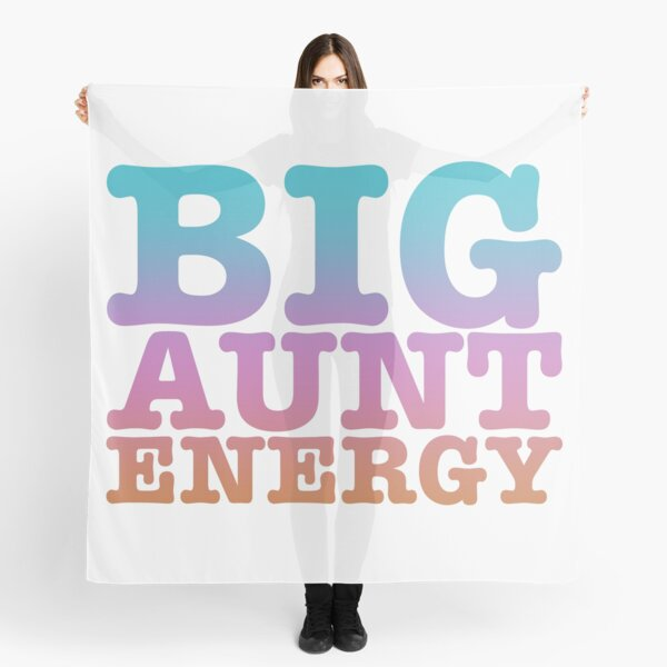 Big Aunt Energy Scarf