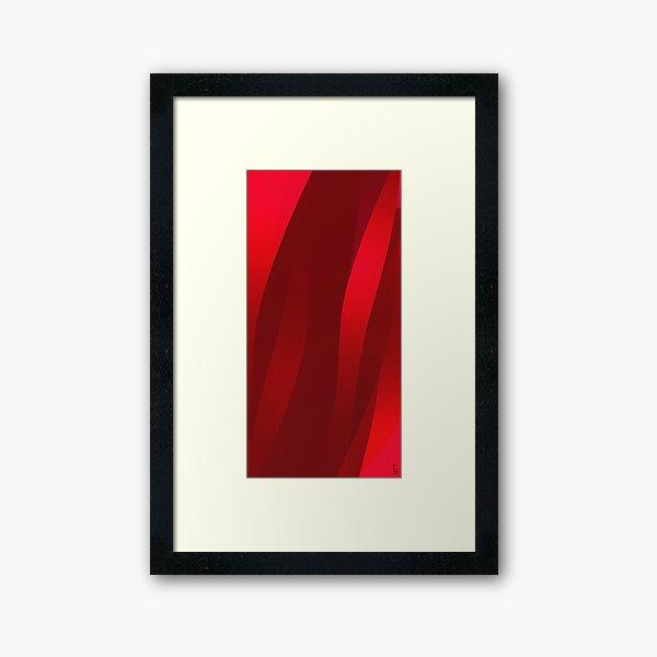 Streams of Passion Framed Art Print