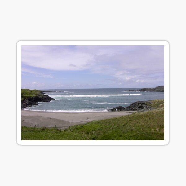 Seaview  Glencolumbkille, Donegal Ireland Sticker