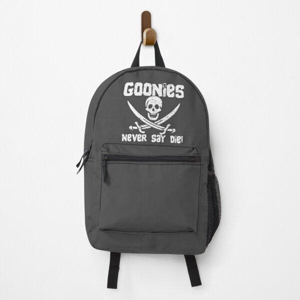 Goonies Never Say Die! Distressed Design For Men, Women, Kids Backpack
