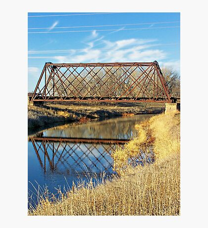 Rusty Reflection Photographic Print