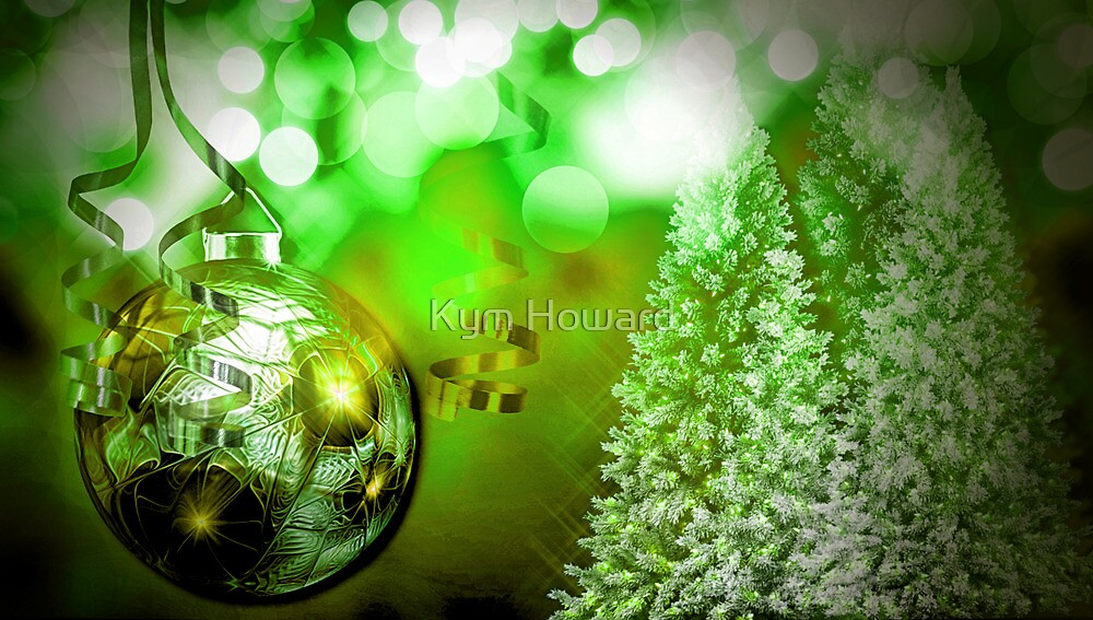 Green and Gold by Kym Howard