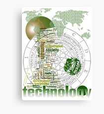 Technology Canvas Print