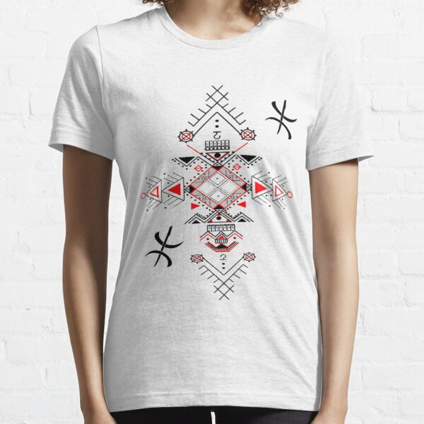 Motifs berbères kabyles amazigh  T-shirt essentiel