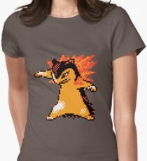 Typhlosion Sprite  Women's Fitted T-Shirt