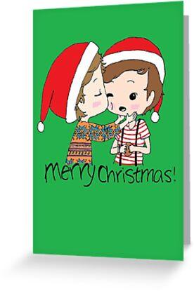 Merry Christmas Larry Stylinson by zatanna103