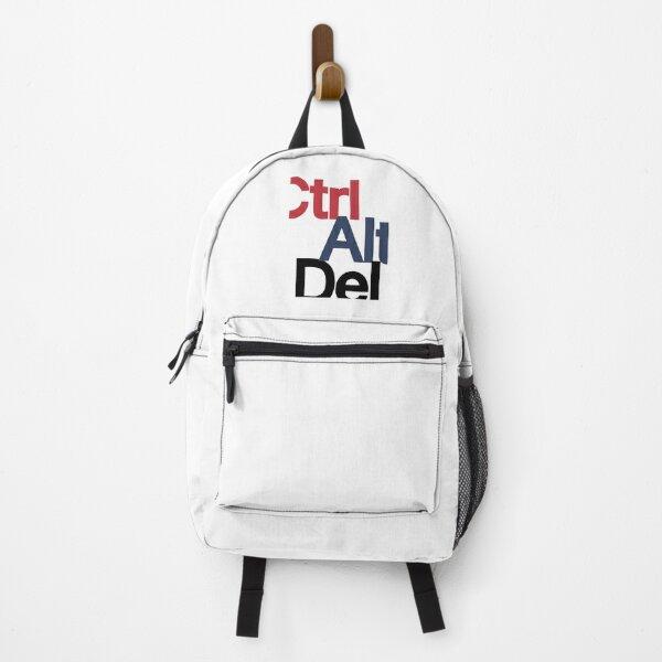 Ctrl Alt Del Reset  Backpack