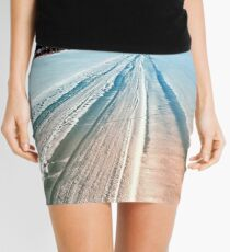 Winter road into the mountains Mini Skirt
