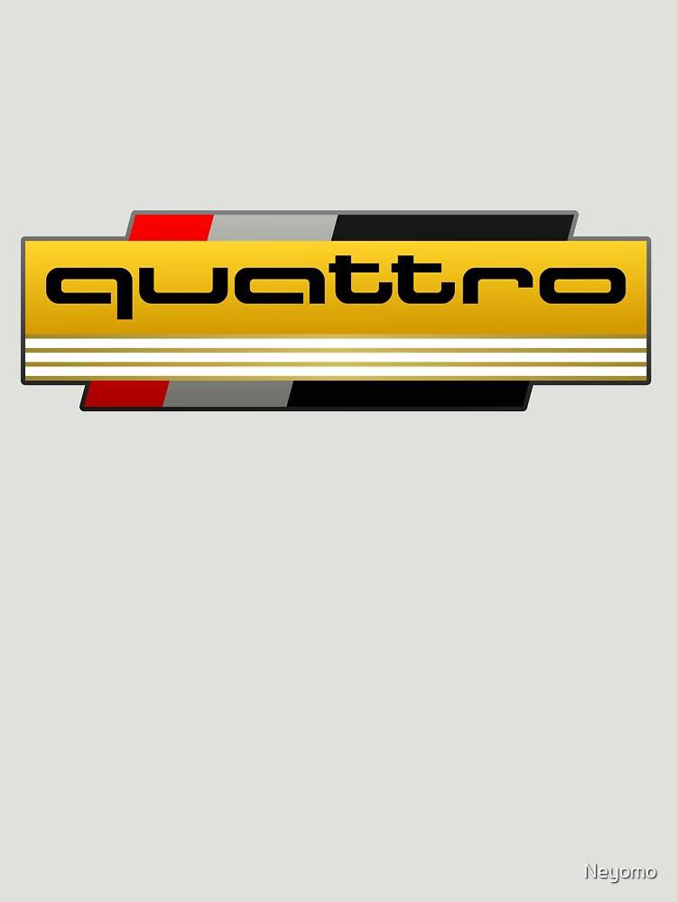 Audi Quattro Tribute | Unisex T-Shirt