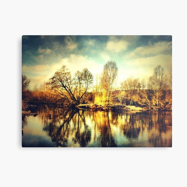 alzette river 3 Metal Print